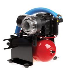 Johnson Pump Aqua Jet Uno waterdruksysteem WPS 3.5  24V/100W  13l/min  max. 2.8bar  stalen tank 2l