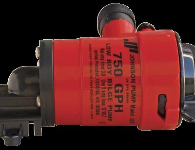 Johnson Pump Low Boy bilgepomp (cartridge type) L550  12V/3A  50l/min  slangaansluiting 3/4