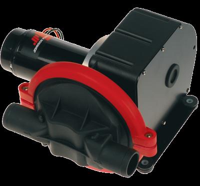 Johnson Pump Viking Power vacuüm  bilge-  vuilwater-  & toiletpomp  12V/3 5A  32l/min  aansl. 1-1/2