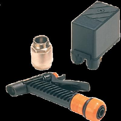 Johnson Pump dekwaskit voor impellerpomp F4B-19  incl. drukschakelaar  terugslagklep & spuitpistool