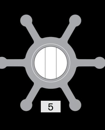 Johnson Pump impeller 808B-1