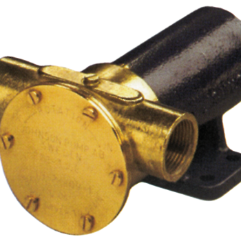 Johnson Pump impellerpomp F7B-3000  107l/min  voetmontage (met mechanical seal & RVS Deksel)