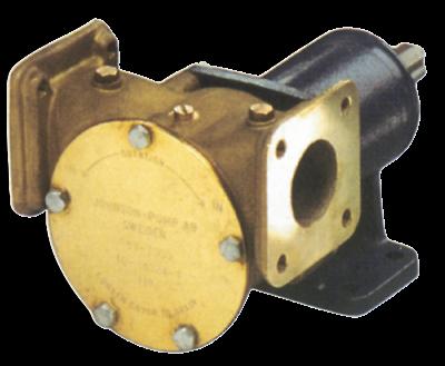 Johnson Pump impellerpomp F8B-3000VF  279l/min  voetmontage (met mechanical seal & RVS Deksel)