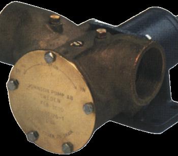 Johnson Pump impellerpomp F9B-3000  389l/min  voetmontage (met mechanical seal & RVS Deksel)