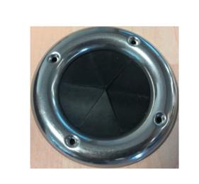 Kabeldoorvoer Ø90x58mm  H=5mm; met RVS ring