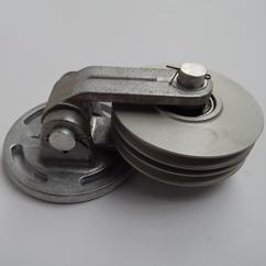 Keerblok Dubbel  Kogelgelagerd D=120mm  V. Goiot Stuursysteem