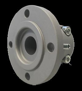 Klemflens KM(H)4A 40mm-as; voor 5-flens; 120x100x65; 4x10.5 gaten