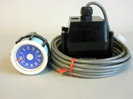 Kompas Ritchie M-2w  Wit  45mm