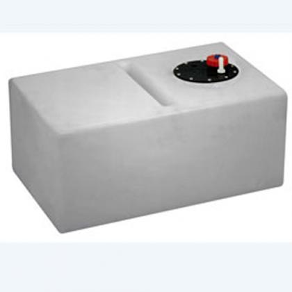 Kunststof Drinkwatertank 70ltr Hor.  660x410x300mm+flensplaat