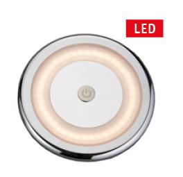 LED Plafondlamp Ø105mm met schakelaar  10-30VDC
