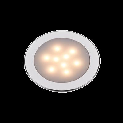 LED Plafondlamp  12VDC  Aluminium  Ø69.5mm