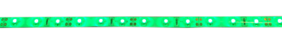 LED strip flexibel met plakrand  groen
