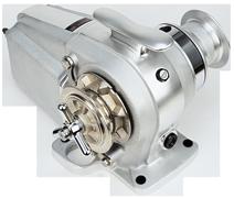 Lofrans Ankerlier  model Tigres  12mm-ISO/DIN766  12V  1500W  met verhaalkop