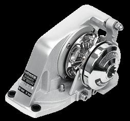 Lofrans windlasses Ankerlier verticaal  model Dorado  8mm  12V  500W  zonder verhaalkop