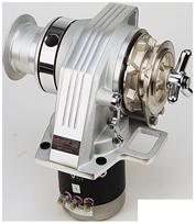 Lofrans windlasses Ankerlier verticaal  model Kobra  10mm  12V  1000W  met verhaalkop