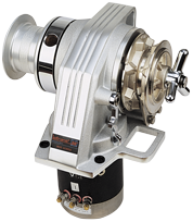 Lofrans windlasses Ankerlier verticaal  model Kobra  8mm  24V  1000W  met verhaalkop
