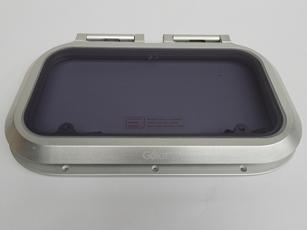 Luik Cristal 385 x 211mm 24mm-inbouwrand  Polish-uitv.