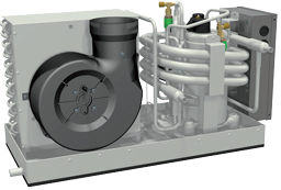Marine Air Conditioning Model 9000 - Complete Set - met dubbele uitstroomopening *