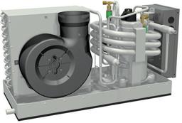 Marine Air Conditioning Model 9000 - Complete Set - met enkele uitstroomopening *