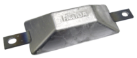 Navalloy European Style Hull Anode; 144mm x 60mm
