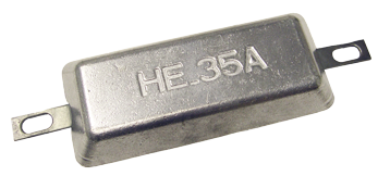 Navalloy European Style Hull Anode; 210mm x 95mm