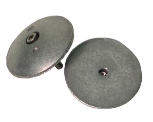 Navalloy Rudder/Trim Tab Anode; 48mm Rudder Trim Tab Double