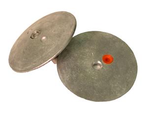 Navalloy Rudder/Trim Tab Anode; 95mm Rudder Trim Tab Double