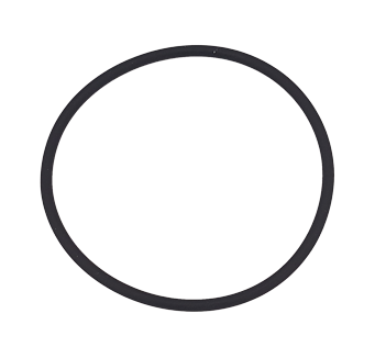 O-ring voor waterfilter 001160B+C+D+E  Neopreen  Ø55 25 x 2 62mm