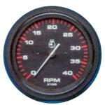 Oliedrukmeter 80 Psi Teleflex Amega Round