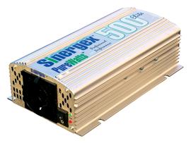 Omvormer 12V-DC/220V-AC 50Hz 500W continu - type Purewatts