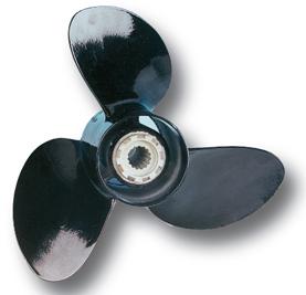 Outboard Propeller Jba 9 X 10 Aluminium  3-blads