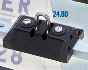 Overloopwagen met RVS-bevestiging  Werkbelasting: 900kg
