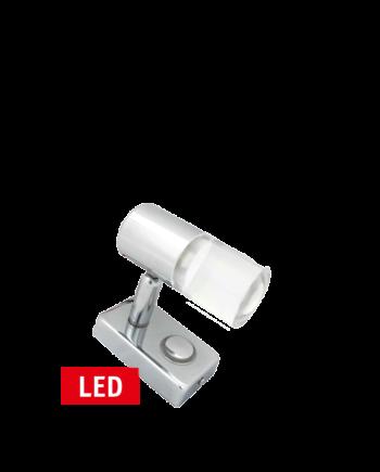 RVS LED wandleeslamp dimbaar