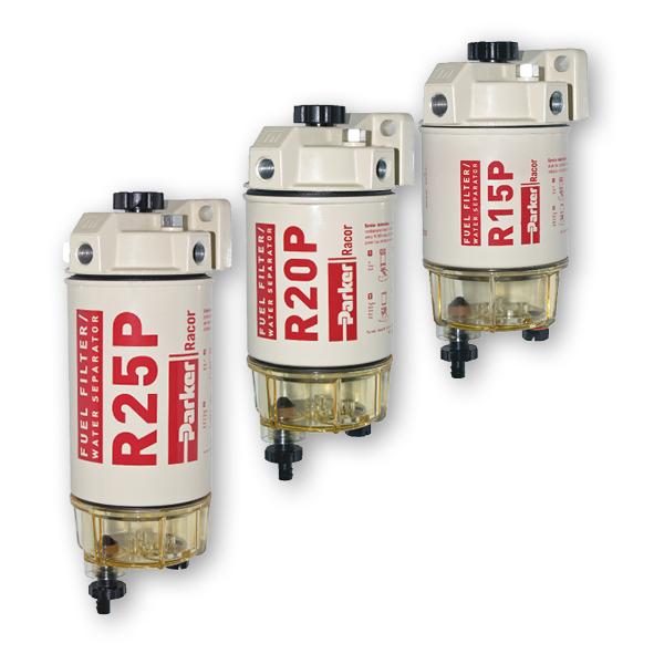 Racor Spin-On filter met waterafscheider en doorzichtig reservoir  model 215R30 New 200 Series