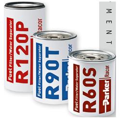 Racor Spin-On vervangingselement R26  model 225R (2 Micron S)