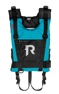 Regatta Action Explorer junior lichtgewicht allround watersportvest 25-40kg  turquoise