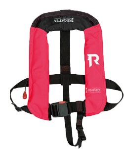 Regatta AquaSafe junior automatisch reddingsvest 18-40kg roze (CE ISO 12402-4 100W)