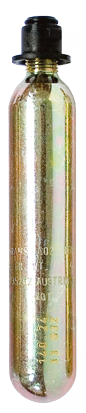 Regatta Cilinder CO2 33gr met clip
