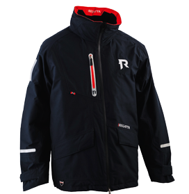 Regatta Drijfjack model Horizon Coral 860  40-65kg (XS)  zwart (50N: CE EN393 50N)