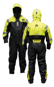 Regatta Drijfpak model Sportline 954 40-75kg (S) fluorescerend geel met zwart
