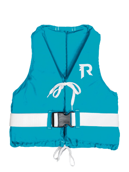 Regatta Pop junior lichtgewicht allround watersportvest 25-40kg turquoise (CE ISO 12402-5 50N)