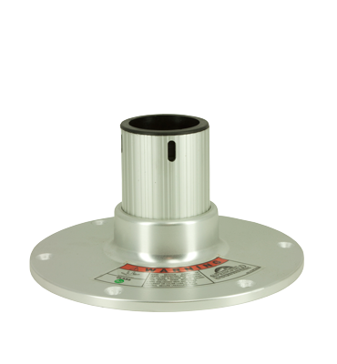 Regatta Stoelpoot 4 5; H=114mm; vast 360° draaibaar met lock