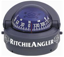 Ritchie Kompas model Explorer RA-93 12V opbouwkompas roos Ø69 9mm / 5º Ritchie angler