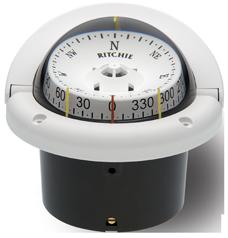 Ritchie Kompas model Helmsman HF-743W 12V inbouwkompas roos Ø95mm / 5º wit