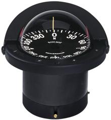Ritchie Kompas model Navigator FN-201  inbouwkompas  12V  roos Ø114 3mm / 5º  zwart
