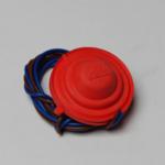 Rood rubber voor voetschakelaar
