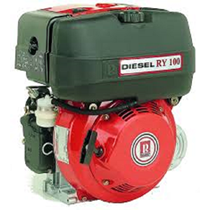 Ruggerini Diesel Luchtgekoeld 7pk / 3000rpm / Handstart