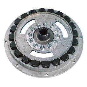 SAE-3 plaat voor TM360 met Rubber Blockdrive 11.5