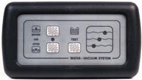 Scheepstoilet Electrisch 12v. Vacuumsysteem + Tankmeter