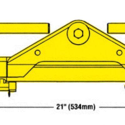 SeaStar Fittingkit voor BayStar-cylinder (HC4645); voor H-Series